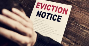 court paperwork to evict a tenant